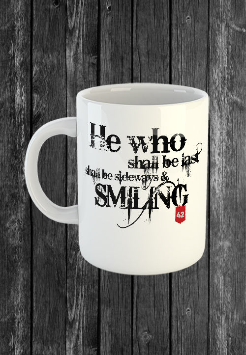 Exclusive Handmade Mug He Who Shall Be Last | Mugs With Sayings, Personalised Gifts, Presents, Drinkware, Quotes, Chest Candy