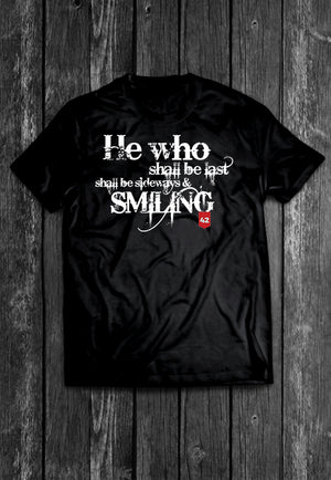 He Who Shall Be Last Quotes Chest Candy | Tshirt, Tshirt Men, Tshirt Women, Custom T, Bespoke T-shirt, Apparel, Clothing