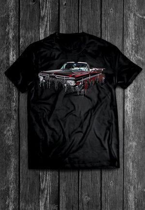 Chevrolet Impala Liquid Metal | Tshirt, Tshirt Men, Tshirt Women, Custom T, Bespoke T-shirt, Apparel, Clothing