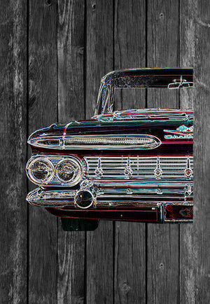 Chevrolet Impala Half Car | Tshirt, Tshirt Men, Tshirt Women, Custom T, Bespoke T-shirt, Apparel, Clothing