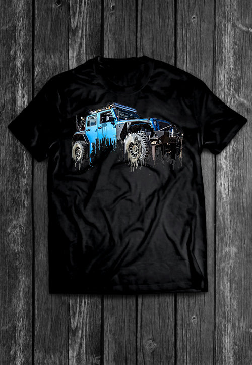 Jeep Liquid Metal Tshirt