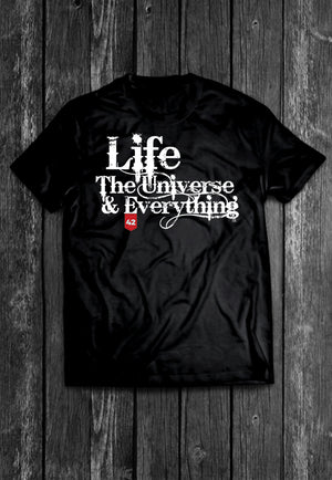 Life, The Universe and Everything Quotes Chest Candy | Tshirt, Tshirt Men, Tshirt Women, Custom T, Bespoke T-shirt, Apparel, Clothing