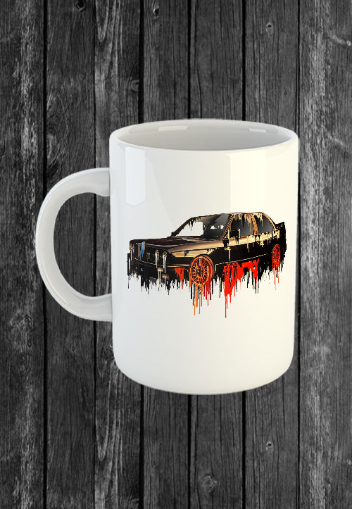 BMW M3 Liquid Metal FREE Mug