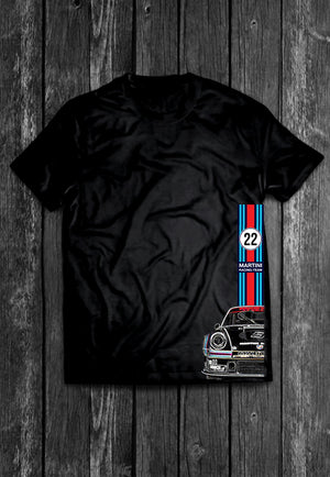 Porsche 911 Martini Half Car | Tshirt, Tshirt Men, Tshirt Women, Custom T, Bespoke T-shirt, Apparel, Clothing