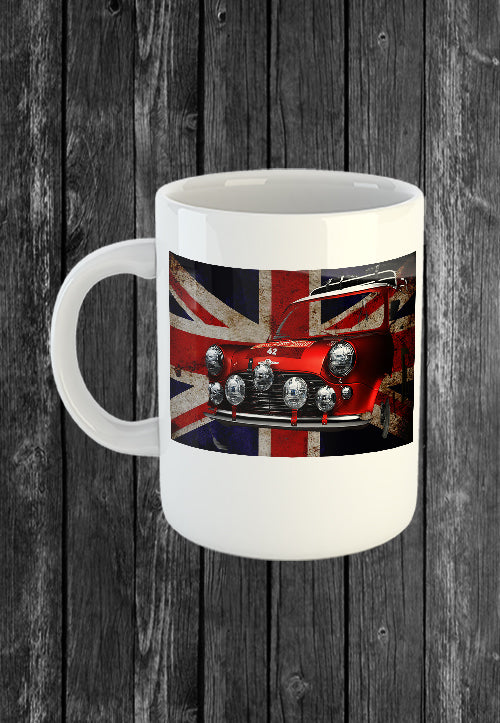 Exclusive Handmade Mug Mini UK Flag | Mugs With Sayings, Personalised Gifts, Presents, Drinkware, Kitchen, Chest Candy