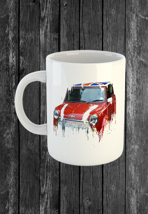 Exclusive Handmade Mug Mini Austin | Mugs With Sayings, Personalised Gifts, Presents, Drinkware, Kitchen, Liquid Metal