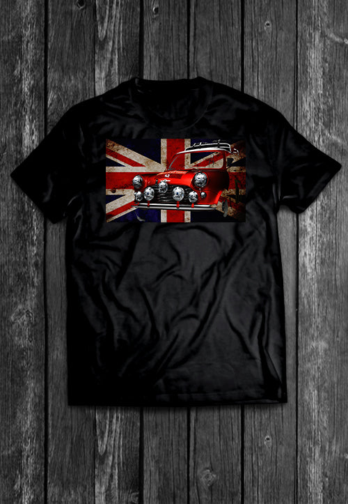 Mini UK Flag Chest Candy | Tshirt, Tshirt Men, Tshirt Women, Custom T, Bespoke T-shirt, Apparel, Clothing