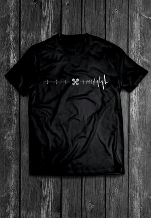 Petrolhead Heartbeat Chest Candy Tshirt