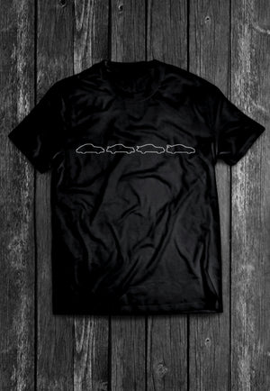 Carvolution Porsche 911 RS Chest Candy | Tshirt, Tshirt Men, Tshirt Women, Custom T, Bespoke T-shirt, Apparel, Clothing