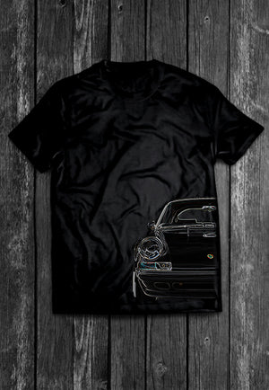 Porsche RS Half Car Tshirt