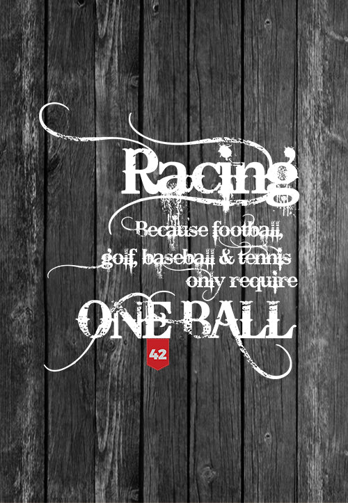 Exclusive Handmade Mug Racing Takes Balls | Mugs With Sayings, Personalised Gifts, Presents, Drinkware, Quotes, Chest Candy