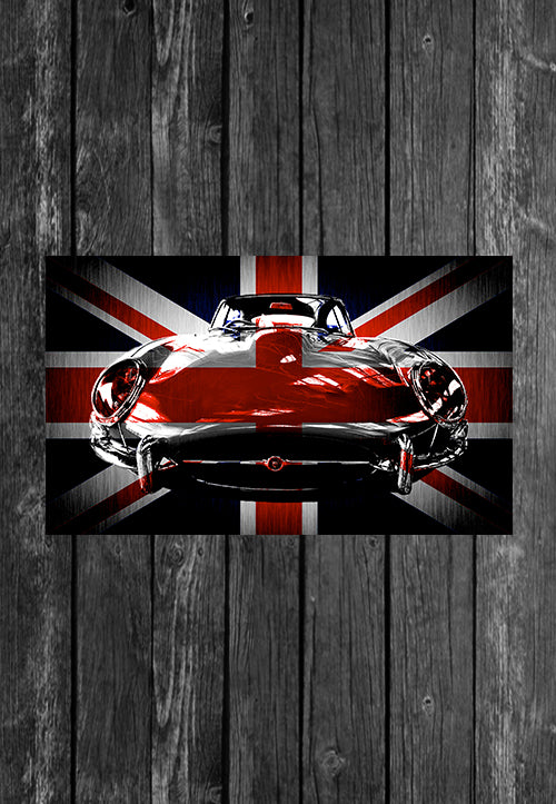 Exclusive Handmade Mug Jaguar Etype UK Flag | Mugs With Sayings, Personalised Gifts, Presents, Drinkware, Kitchen, Chest Candy