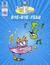 "Load image into Gallery viewer, ""Bye-Bye Fear"" coil bound comic"