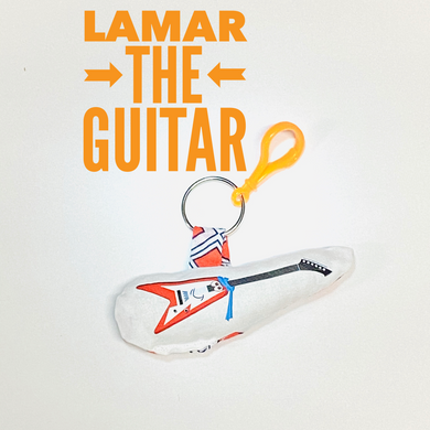 Lamar the guitar bag buddy