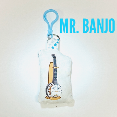 Mr. Banjo bag buddy