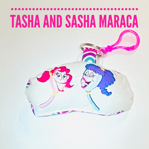 Tasha and Sasha bag buddy