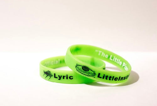 Green Lyric wrist band