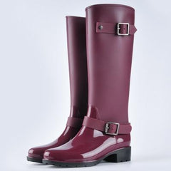 Olemi High Zipper Rain Boots