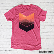 Chevron Sunset Hiker Tee