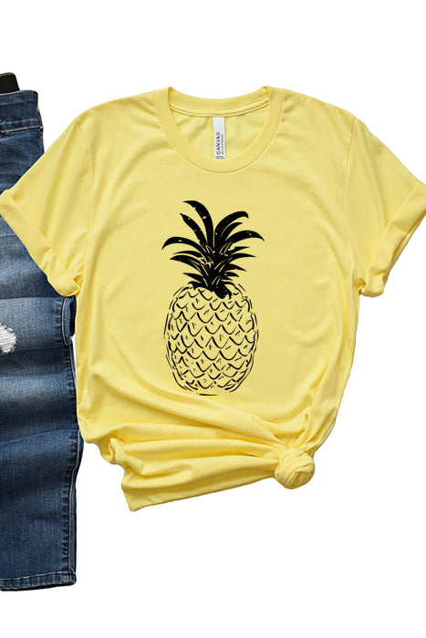 Black and White Pineapple-1278