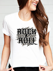 Rock and Roll Leopard Tee
