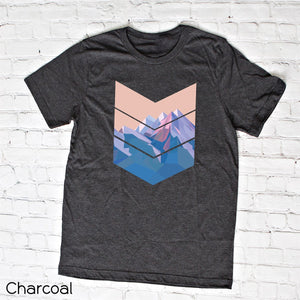 Chevron Mountain Tee
