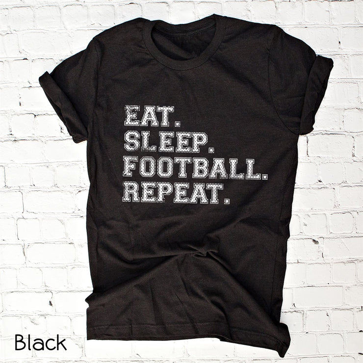 Eat, Sleep, Football Tee