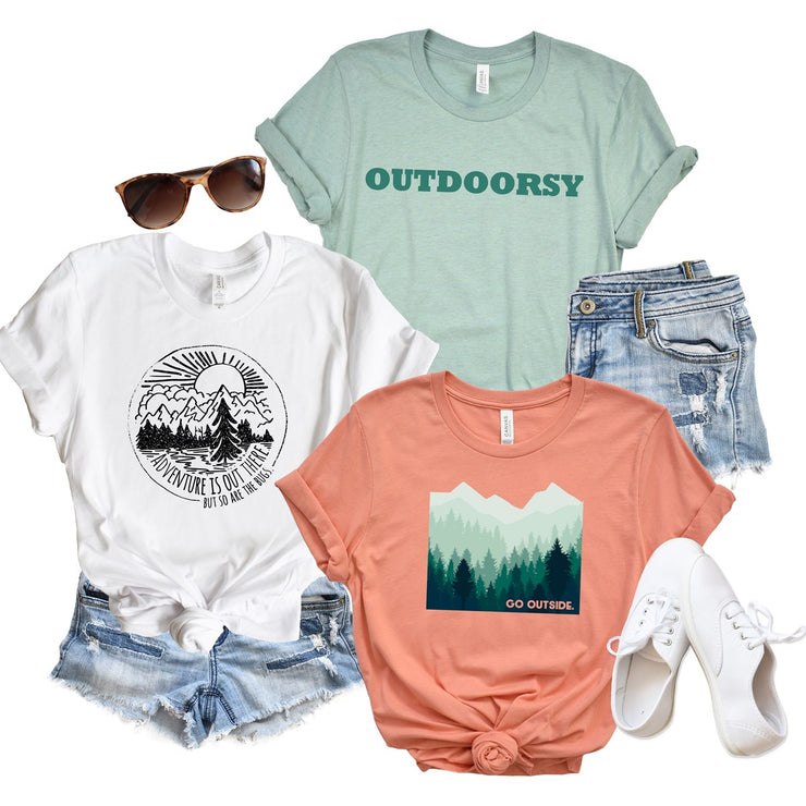Go Outside Tees