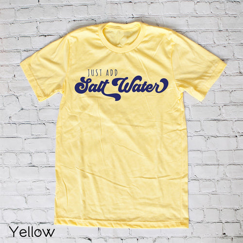 Just add Saltwater Tee
