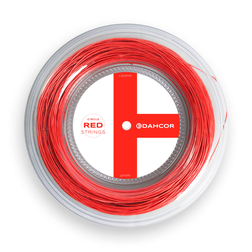 Red Circle Strings Reel