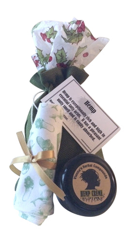 2 Oz Hemp Creme and Cotton Moisturizing Socks - Greenshoes. Great Holidays Gift!