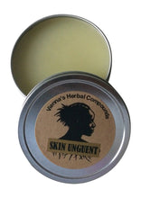 Load image into Gallery viewer, Herbal Skin Unguent. All Natural Handcrafted Herbal Salve for Skin Irritations. 2 Oz.