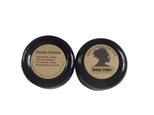 Hemp Creme - Deeply Moisturizing, Easily Absorbed, 100% All Natural Healing Skin Care for Even the Driest Skin Conditions. Pure ingredients. No Fragrance. 2 Oz