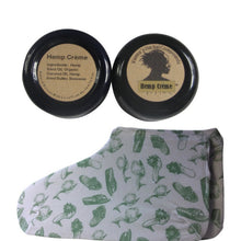 Load image into Gallery viewer, 2 Oz Hemp Creme and Cotton Moisturizing Socks - Greenshoes. Great Holidays Gift!