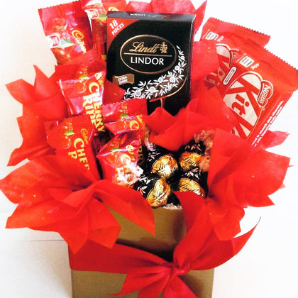 Dark chocolate box for dark chocolate lovers