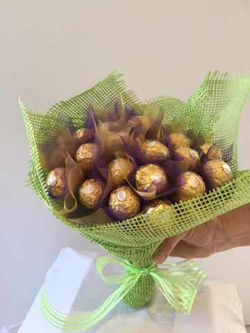 Ferrero chocolate bouquet