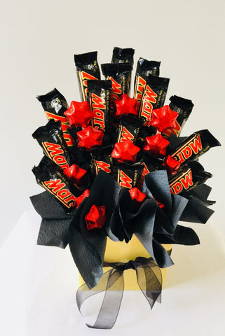 "Mars ""n"" Stars chocolate bouquet"