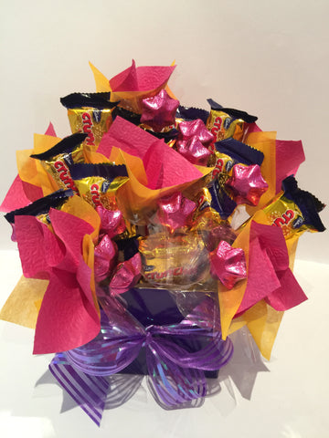 Hokey pokey chocolate bouquet