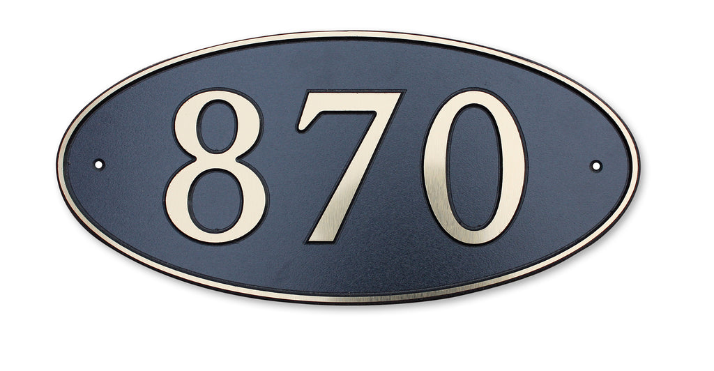 Address Plaque Only (650 Model - Medium/Large)