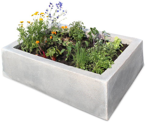 Dekorra Mock Rock Raised Bed - Model 210