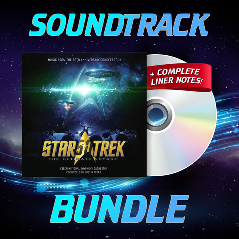 Star Trek: The Ultimate Voyage Digital Soundtrack Bundle (Album + Liner Notes)