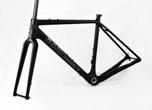 Load image into Gallery viewer, Peacemaker Carbon Frameset | Bauhaus Black |