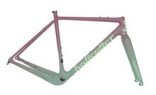 Load image into Gallery viewer, Peacemaker Carbon Frameset | Artist Series |  Mint - Cassis Fade