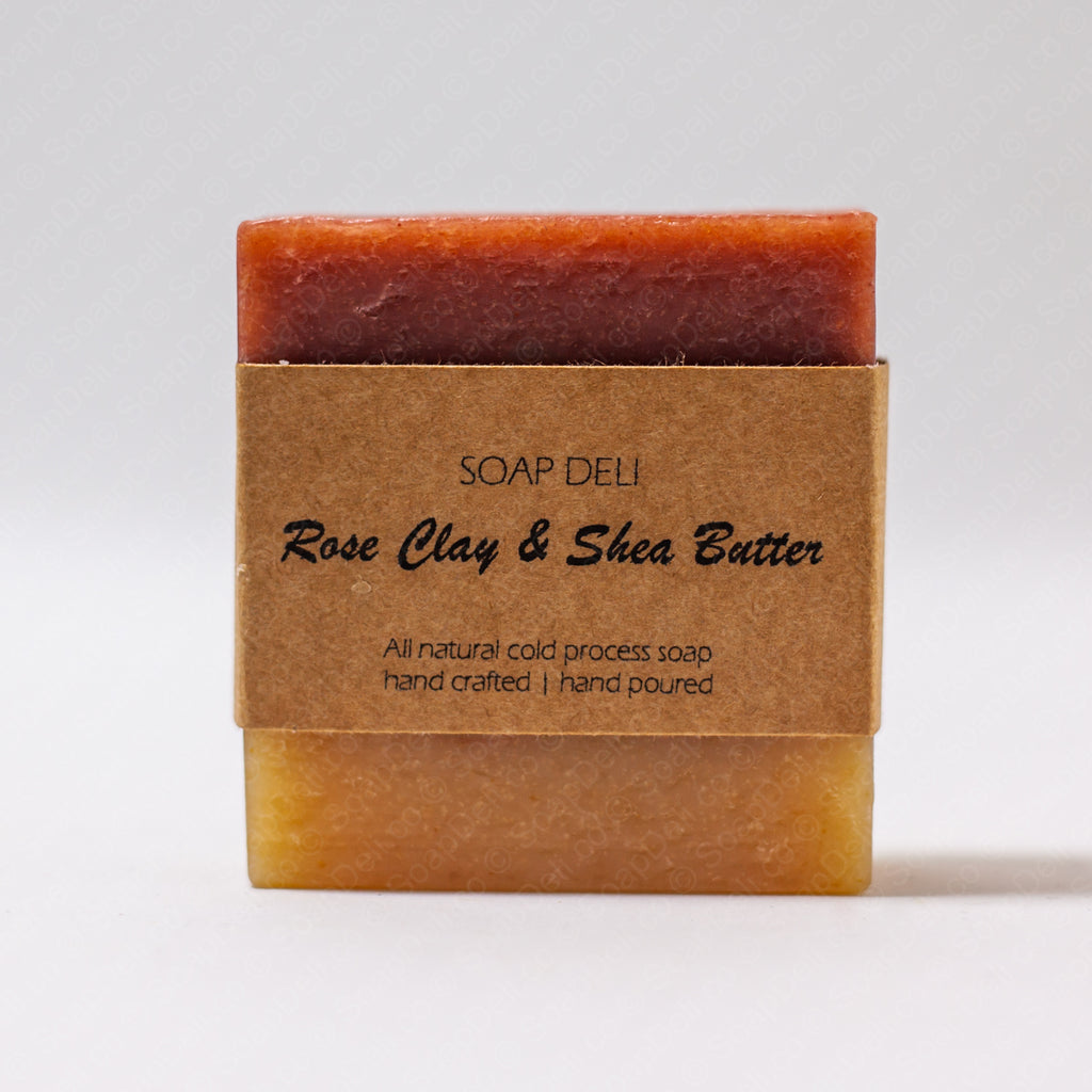 Rose Clay & Shea Butter Soap