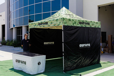 10x10 Canopy with Custom Graphics