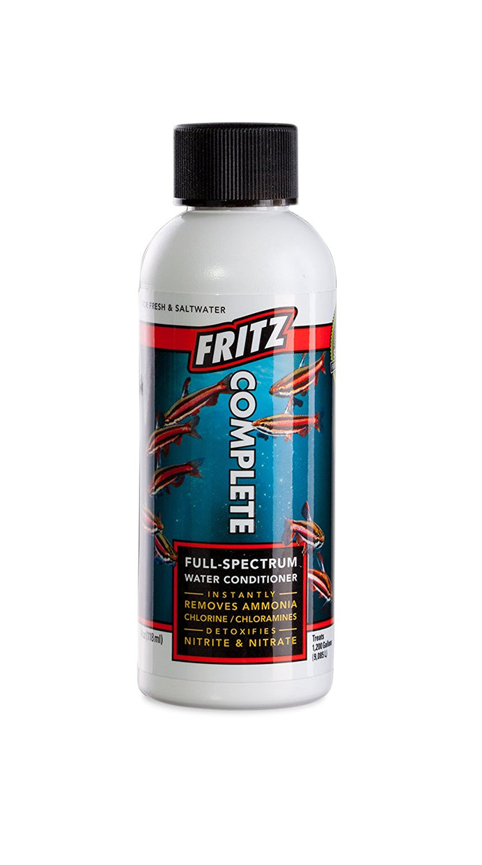 Fritz Aquatics Complete Water Conditioner, 4-Ounce