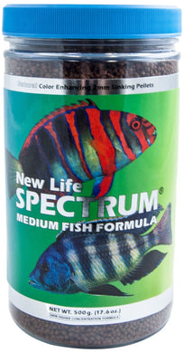 New life spectrum is a color enhancing, hormone free formula.