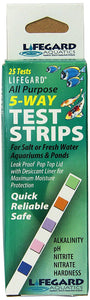 Lifegard Aquatics 5 Way Test Strip