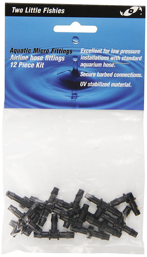 Two Little Fishies Airline Kit with 12-Piece Standard Tubing