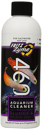 Fritzzyme 460 is a powerful probiotic blend of naturally occurring, environmentally friendly, live heterotrophic bacteria capable of digesting organic sludge common in aquariums.
